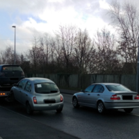 Cars seized and court ordered for drivers found speeding, texting and with no seat belts on children
