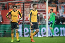 Second-half capitulation leaves Arsenal on the brink of Champions League exit