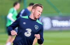 Hat-trick for Dubliner Rooney and Ireland international Hayes also on target in 7-2 rout