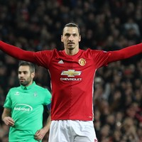 Three and easy! Ibrahimovic treble puts Man United in driving seat