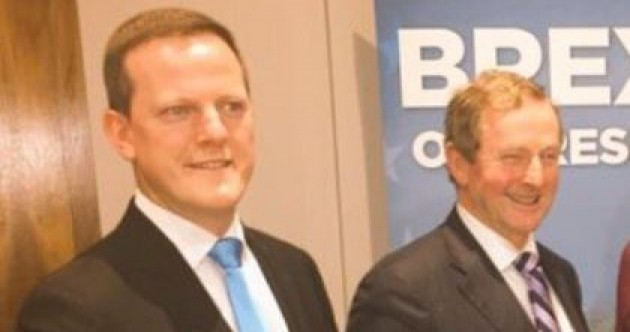 Alan Farrell has become the first Fine Gael TD to say he has no confidence in Enda Kenny