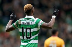Dembele and Forrest help runaway leaders Celtic restore 27-point advantage