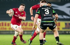 Late try the difference as Munster pull off big result to return to top of Pro12 table