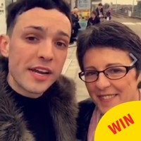Snapchatter James Kavanagh actually met the woman who does the voice on the Luas
