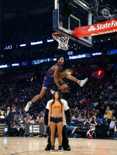 The best bits from last night's NBA Slam Dunk contest