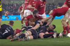 The late, late try that sent Munster back to the top of the Pro12 table