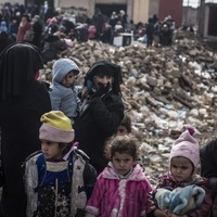 350,000 children trapped in Mosul faced with grim choices as 'most brutal fighting yet' begins