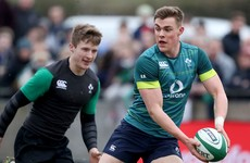Ringrose feeling the pressure but 'loving every second' of his first Six Nations