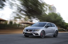 SEAT's Leon Cupra 300 hot hatch is now available in Ireland
