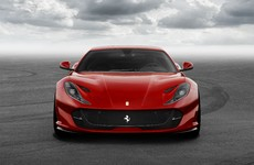 Take a look at the fastest, most powerful Ferrari ever - the 812 Superfast