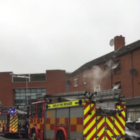 Four units attend as Dublin Fire Brigade battles blaze in north inner city