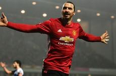 Late Zlatan winner sends United through at Blackburn's expense