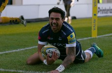 Solomona weeks away from England eligibility following hat-trick against Wasps
