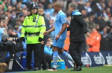 Case closed: FA uphold Kompany red card