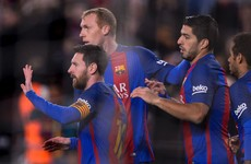 Late Messi penalty saves Barca embarrassment following another disappointing display