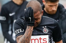 Brazilian player leaves pitch in tears after racial abuse