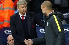 Guardiola slams 'unacceptable' Wenger treatment
