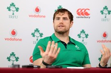 Heaslip not afraid to think big - World Cup big - when setting late career goals