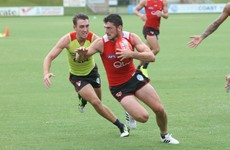 Former Tipperary star Colin O'Riordan made his senior debut for the Sydney Swans yesterday
