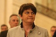 Arlene Foster couldn't take questions at manifesto launch due to 'man flu'