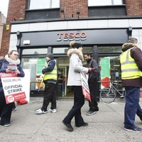 Four Tesco stores vote to join strike, six vote against