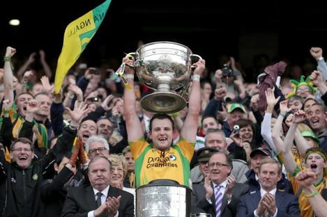 Donegal's 2012 All-Ireland winning captain Michael Murphy.
