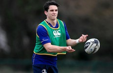 Ireland management want Carbery to get 'more exposure' at out-half with Leinster