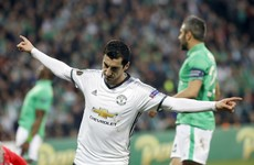 Man United through to Europa League last-16 but Mkhitaryan injury a worry