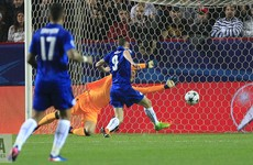 Vardy gives Leicester lifeline with late away goal in Sevilla defeat