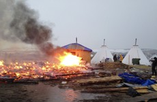 20 fires started at Standing Rock as protest camp dismantled