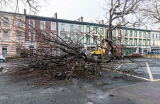 Pics: Storm Doris has wreaked just a little bit of havoc in Ireland today