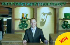 A hotel in Clare is giving a free stay to anyone called Patrick or Patricia for Paddy's Day