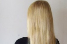 Looking for some virgin blonde human hair? It's for sale on an Irish site...