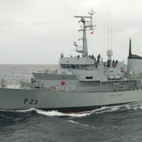 After 36 years of service the LÉ Aisling has gone up for sale
