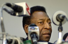 Pele's son turns himself in for 12-year prison sentence