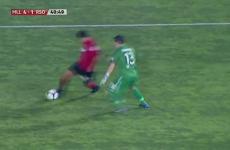 Watch: Real Sociedad 'keeper has a howler