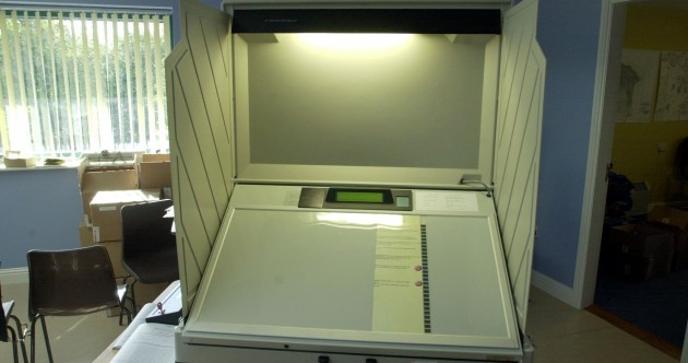 Government puts e-voting machines up for auction