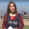 Kurdish news anchor killed covering Iraq's battle for Mosul