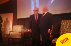 Michael D. Higgins meeting Martin Scorcese is as adorable as you'd imagine