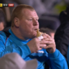After pie-gate fallout, Sutton forced into playing right-back in goal
