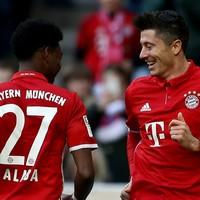 Relentless Bayern Munich fire 8 past Hamburg on special day for Ancelotti