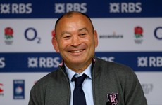 'We haven't played a game of rugby yet. We might go out and train after this' -- Eddie Jones has jokes