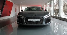 The Audi R8 V10 Plus is the fastest series-production Audi of all time