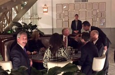 Nigel Farage 'squeezed in at last second' to dine with Donald Trump