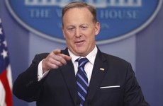 Sean Spicer's denials left looking thin as Trump's choice for top Navy job steps aside