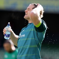 Fun in the sun for Ireland as Schmidt puts squad through high-tempo open session