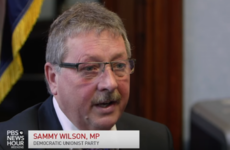 The DUP's Sammy Wilson told a US TV station that it's okay to compare Sinn Féin with ISIS