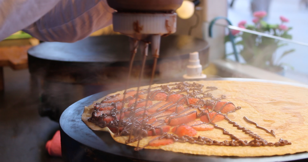 It's Pancake Tuesday tomorrow - get some inspiration from this master crêpier
