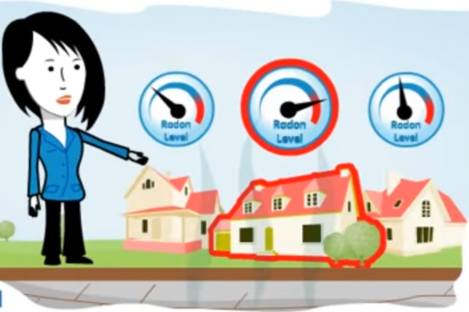 A radon awareness video released by the Environmental Protection Agency.