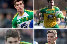 Young Guns! After losing 9 seasoned veterans, these Donegal newcomers are starting to thrive
